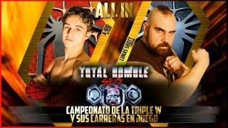 Triple W: Total Rumble VI - A-Kid vs Lukas Skott (c) [Campeonato Absoluto] (Combate íntegro)