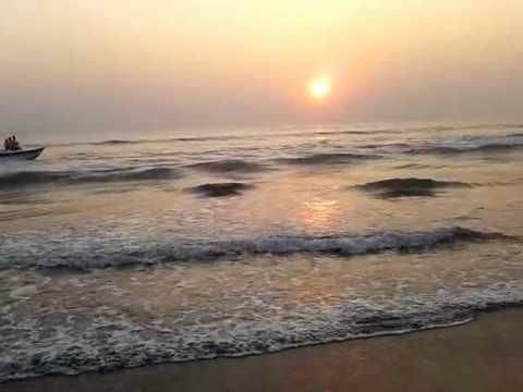 Spectacular Sunset at the Cox's Bazar Beach, Bangladesh