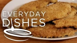 How to Bread Chicken Cutlets
