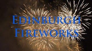 EDINBURGH FIREWORKS - Virgin Money Symphonic Concert Finale - Tchaikovsky '1812 Overture'