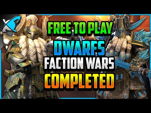 """""""F2P"""" DWARF Faction Wars COMPLETED (13/13) 