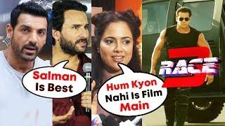 Bollywood Celebs Reaction On Salman Khan's RACE 3 | John Abraham, Saif Ali Khan