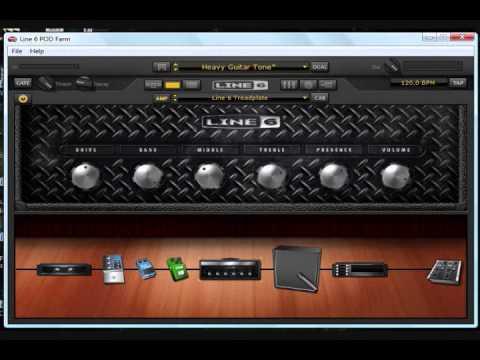POD Farm 2 Djent Guitar and Bass Tone Chords - Chordify