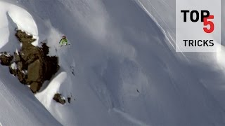 Top 5 Tricks on the Freeride World Tour