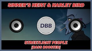 Sinner's Heist - Streetlight People (feat. Harley Bird) [NCS Release] [BASS BOOSTED]