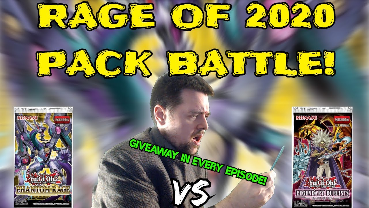 GGVision - Yugioh Phantom Rage Vs Legendary Duelist Rage of Ra - Yugioh Rage of 2020 Pack Battle!