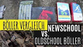 KLEINER BÖLLER VERGLEICH | Newschool vs. Oldschool Böller