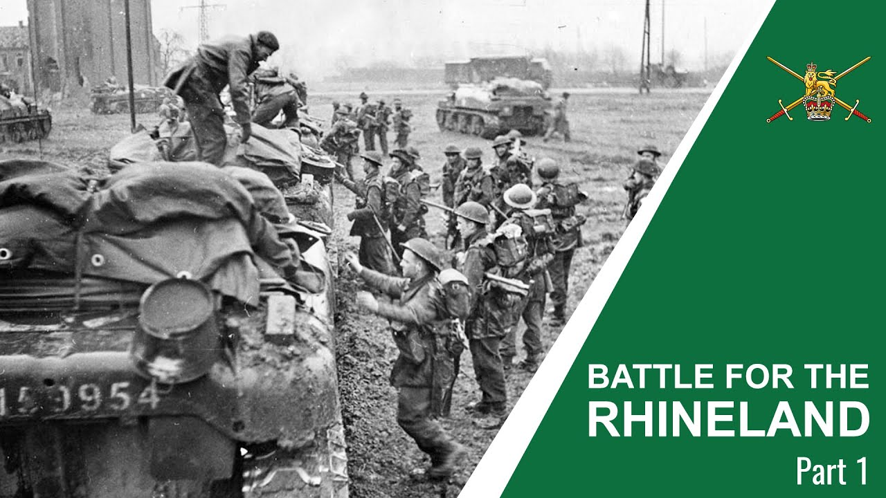 Battle for The Rhineland - Operation Veritable