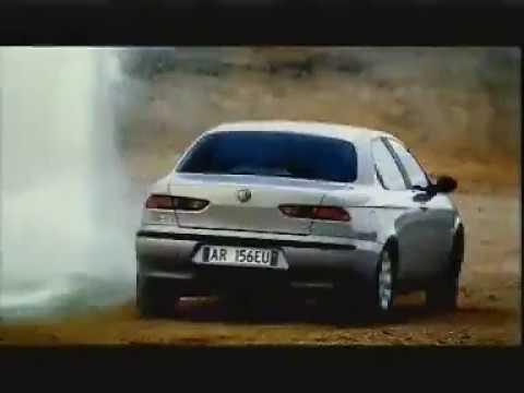 Реклама Alfa Romeo 156