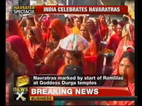 India celebrates Durga Puja – NewsX