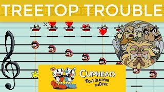 Treetop Trouble (Mario Paint Cover) from Cuphead - dannymusic