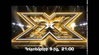 X-Factor-Armenia - Promo 2016