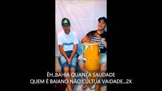 PONTO DE BAIANO - JOÃO BAIANO - DEIXEI MINHA TERRA