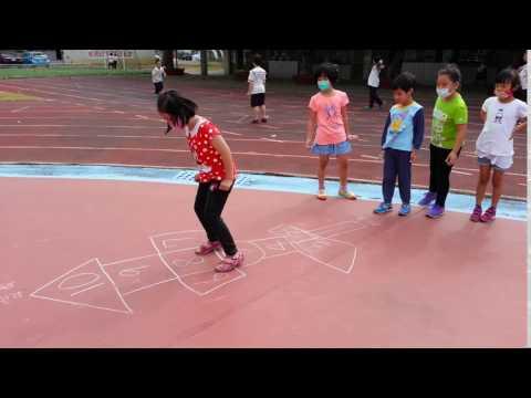 20161121畫格子跳房子4 - YouTube