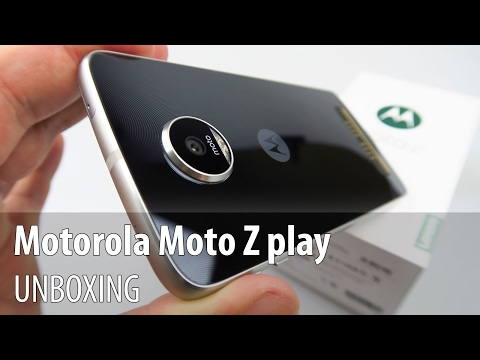 Motorola Moto Z Play Unboxing în Limba Română