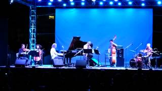 "Stavros Lantsias perfoming ""Efchi"" EYXH at Badminton Open Theatre Athens 2013"