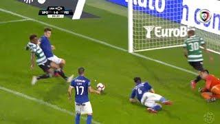 Goal | Golo Jovane Cabral: Sporting (1)-0 Feirense (Liga 18/19 #4)