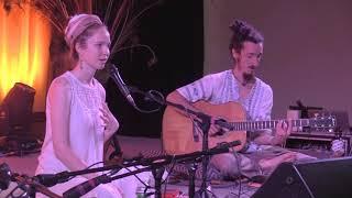 Ajeet Kaur explains Gobinda Hari - Ahimsa Yoga And Music Festival 2017