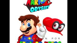 Super Mario odyssey cover latino