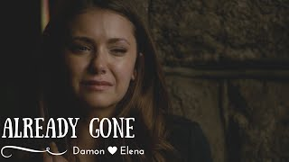 Damon and Elena - Already gone