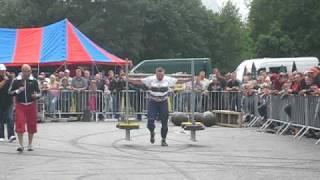 Yoke race 350kg for 25 meters