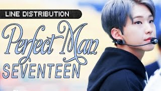 [LINE DISTRIBUTION] SEVENTEEN - Perfect Man (Shinhwa)