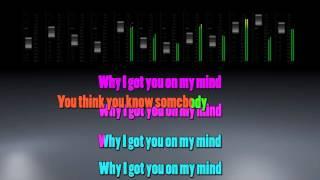 Ellie Goulding - On My Mind (Karaoke/Instrumental)