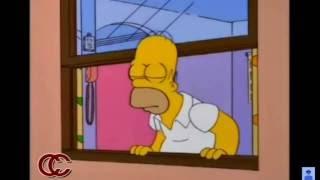 Olvídala - Homero Simpson ft. Milhouse Van Houten - :v