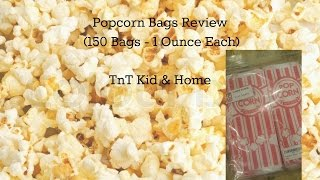 Popcorn Bags - (150 Bags - 1 Ounce Each) Review