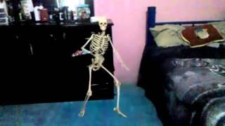 FxGuru Video mi esqueleto bailarin