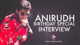 Anirudh Ravichander Birthday Special Interview || #PSPK25 || Pawan Kalyan, Trivikram Srinivas