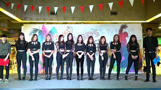 """170923 """"Kristin"""" (Committee's comment) @ HAHA K-POPS Cover Dance Contest 2017"""