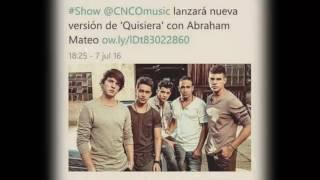 Quisiera~ CNCO ft Abraham Mateo ❤(Ballad Remix)