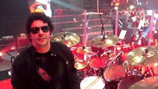 Sergio Melo - artista Pearl Brasil -  baterista do The Voice Brasil