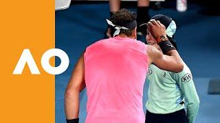 Kiss and Make Up: Rafa Apologises to Ball Girl Like a Gentleman   Australian Open 2020