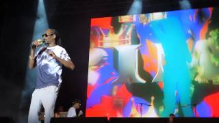 Snoop Dogg - P.I.M.P. (50 Cent Cover) Live Vienna, Austria 2015 HD (Dan) 22.07.15