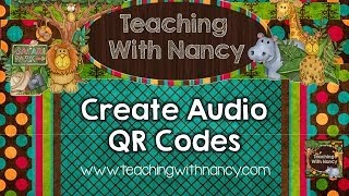 Create Audio QR Codes