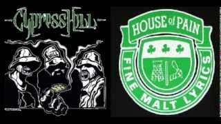 House Of Pain vs Cypress Hill - Jump Around In The Brain (Dayka Hill Mash-Up Uno)