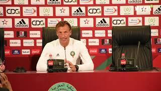 Déclarations de l'entraineur de l'équipe nationale et des joueurs avant le match Maroc-Argentine