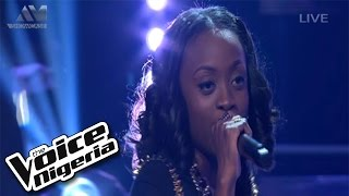 "Vicky sings  ""Umbrella""/ Live Show / The Voice Nigeria 2016"