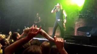 Best Metalheads = Barcelona!! - Amon Amarth - Death In Fire intro