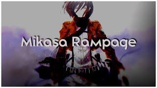 Attack on Titan season 2 - AMV - Mikasa Rampage