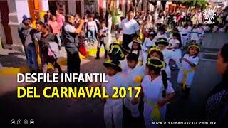 Color y diversión en el desfile infantil del Carnaval 2017