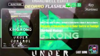 King Kong vs Hakuna Matata vs Under Control vs Flashlight (Hardwell Mashup)