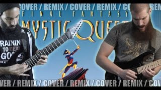 Final Fantasy Mystic Quest - Boss Battle | METAL REMIX (ft. Daniel Tidwell)