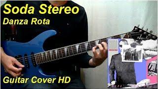 Soda Stereo   Danza Rota   Guitar Cover HD