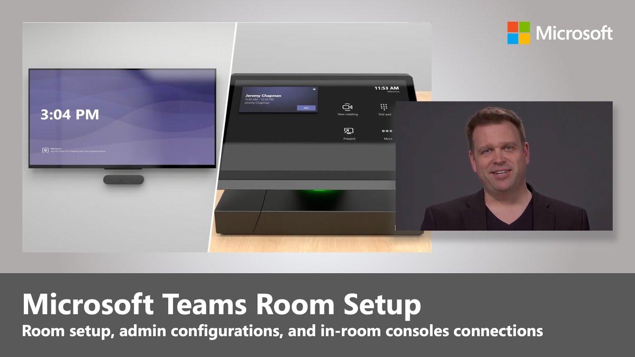 Microsoft Teams Rooms Setup