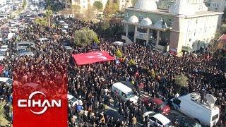 Fırat Çakıroğlu, binlerce kişinin katılımıyla son yolculuğuna uğurlandı