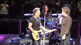 Bruce Springsteen and Bon Jovi Glory Days - Dallas 4/13/08