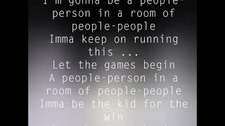 AJR- Let the Games Begin - Lyrics (clean edit)